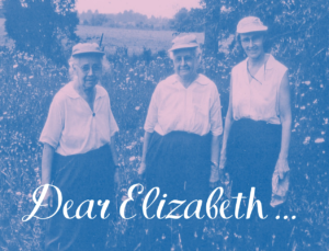 Lucy Braun. Annette Braun and Elizabeth Brockschlager in the field