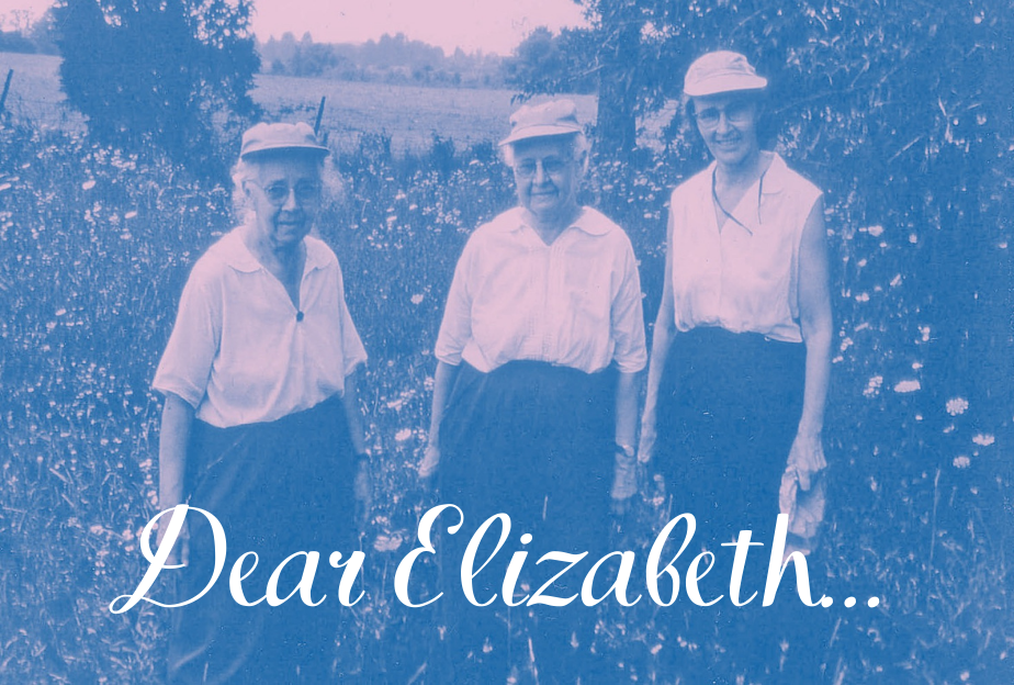 Lucy Braun. Annette Braun and Elizabeth Brockschlager in the field